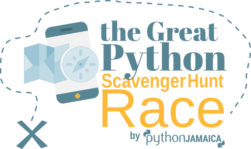 The Great Python Scavenger Hunt race